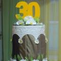 Мастер класс «Муляж торта на юбилей детского сада «Ромашка»