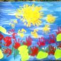 Стенгазета «Солнышко светит-цветочки растут»