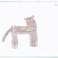 Конспект НОД по художественному творчеству (Рисование) в старшей группе «Мое любимое домашнее животное».