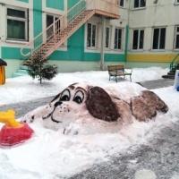 Оформление участка «Зимняя сказка в детском саду»