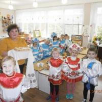 Конспект «Детский сад для родителей». Работа совместно с родителями по проекту: «Культура и быт русского народа»