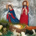 Оформление группы «Рождество, Рождество— в целом мире торжество»