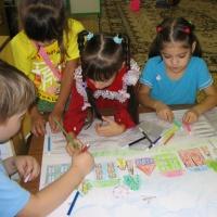 Конспект занятия с использованием нетрадиционных техник рисования «Зима» для детей 4–5 лет.