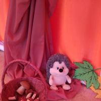 Конспект НОД по изобразительной деятельности лепке в средней группе «Осенний подарок для ёжика— грибы»