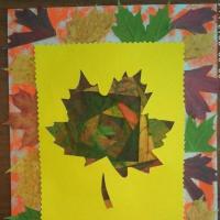 Мастер-класс «Осенний листочек в технике айрис фолдинг»