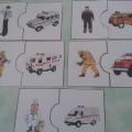 Дидактическая игра «Экстренные службы» для младшего дошкольного возраста
