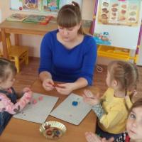 Конспект НОД по лепке «Бублики» для детей второй младшей группы