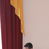 Фотоотчёт о выступлении театральной студии «Закулисье» на районном конкурсе «Пушкинский бал»