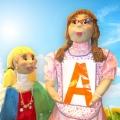Мастер-класс по созданию ростовых кукол Звукознайки и Буквознайки