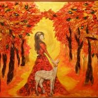 Фотозарисовка «Мое хобби— рисунок и рукоделие»