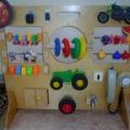 Дидактическая игрушка для развития моторики рук у детей раннего возраста своими руками