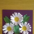 Поздравительная открытка маме на 8 марта (мастер-класс)