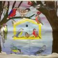 Коллективная работа «К нам в кормушку прилетели…». Стенгазета по проекту «Зимующие птицы— наши друзья»