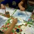 Рисование «Зимнее утро». Старший дошкольный возраст