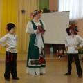 Мастер-класс («Музыкальная открытка» практическая часть) «Обучение детскому русскому народному танцу детей с ОНР»