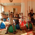 Конспект занятия дополнительной образовательной деятельности по фитбол-гимнастикедля детей подготовительной группы