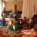 Конспект занятия дополнительной образовательной деятельности по фитбол-гимнастикедля детей старшей группы