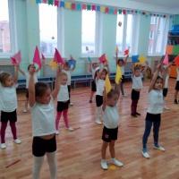 Физкультурные занятия в нашем детском саду (фотоотчет)