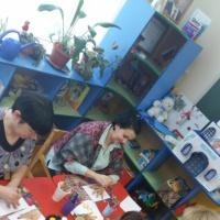 Мастер-класс для педагогов «Нетрадиционные техники рисования в ДОУ при помощи ладошки»