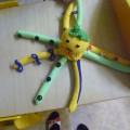 Развивающая мягкая игрушка для развития мелкой моторики детей 4–5 лет «Осьминог» своими руками