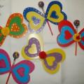 Мастер-класс «Валентинка-бабочка»