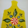 Конспект ООД по рисованию в старшей группе «Украшение разделочной доски по мотивам городецкой росписи»