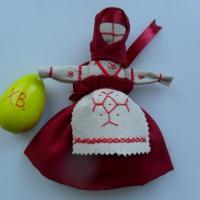 Мастер-класс «Кукла на пасхальное яйцо»