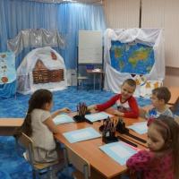 Фотоотчет об открытом занятии «В гости в Простоквашино»