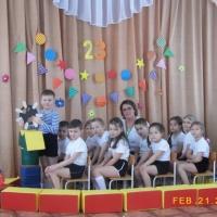 «С Днём защитников Отечества, ребята!» Отчет воспитателя о спортивном мероприятии с детьми старшей группы детского сада