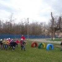 Организация подвижных игр с детьми на воздухе в зимний период
