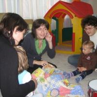 Конспект комплексного верботонального занятия с группой детей второго года жизни