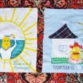 Новые лоскутки с Кубани для скатерти-самобранки