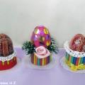 Элементы украшения к празднику Светлой Пасхи. Подставки для пасхальных яиц