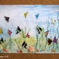 Тематическая неделя «Рыбы». Познавательная беседа с элементами художественно-творческой деятельности