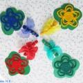 «Разноцветные бабочки и цветы». Дидактическое пособие своими руками. Мастер-класс
