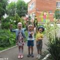 «Развиваем ловкость, играя в бильбоке!» Фотоотчёт о детских играх и забавах на свежем воздухе