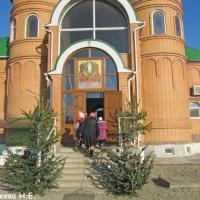 Рождественское представление детской воскресной школы при храме св. прп. Ильи Муромца