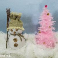 Мастер-класс поделки «Снеговик» для совместного творчества родителей и детей