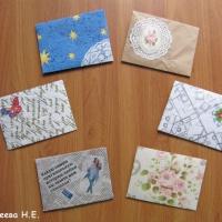 Изготовление поздравительных конвертов своими руками