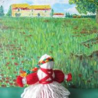 «Ты приди, Весна— веснянка, выходи к нам на полянку!». Фотоотчёт о поделках для весеннего оформления