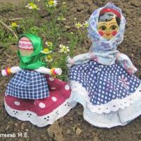 Мастер-класс «Кукла на ложке». Занимаемся изготовлением старинной куклы вместе со своими детьми