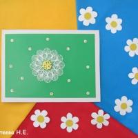 Фотоотчёт творческих работ «Зацвели ромашки— наступило лето»