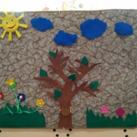 Познавательно-творческий проект для детей младшей группы «Времена года»