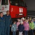 Экскурсия в пожарную часть «Я б в пожарные пошёл, пусть меня научат!» (фотоотчет).