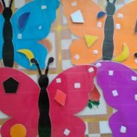 Дидактическая игра для детей 4–5 лет «Укрась бабочку» для детей»