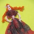 Мастер-класс «Кукла из салфеток»