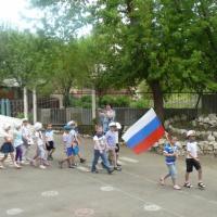 Фотоотчёт о проведении физкультурного досуга «Зарница».