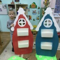 Дидактическая игра по обучению грамоте «Волшебные домики с буквами» для детей 5–7 лет