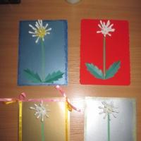 Мастер-класс изготовления открытки для мамы