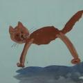 «Веселый котенок». Конспект занятия по рисованию (средняя группа)
